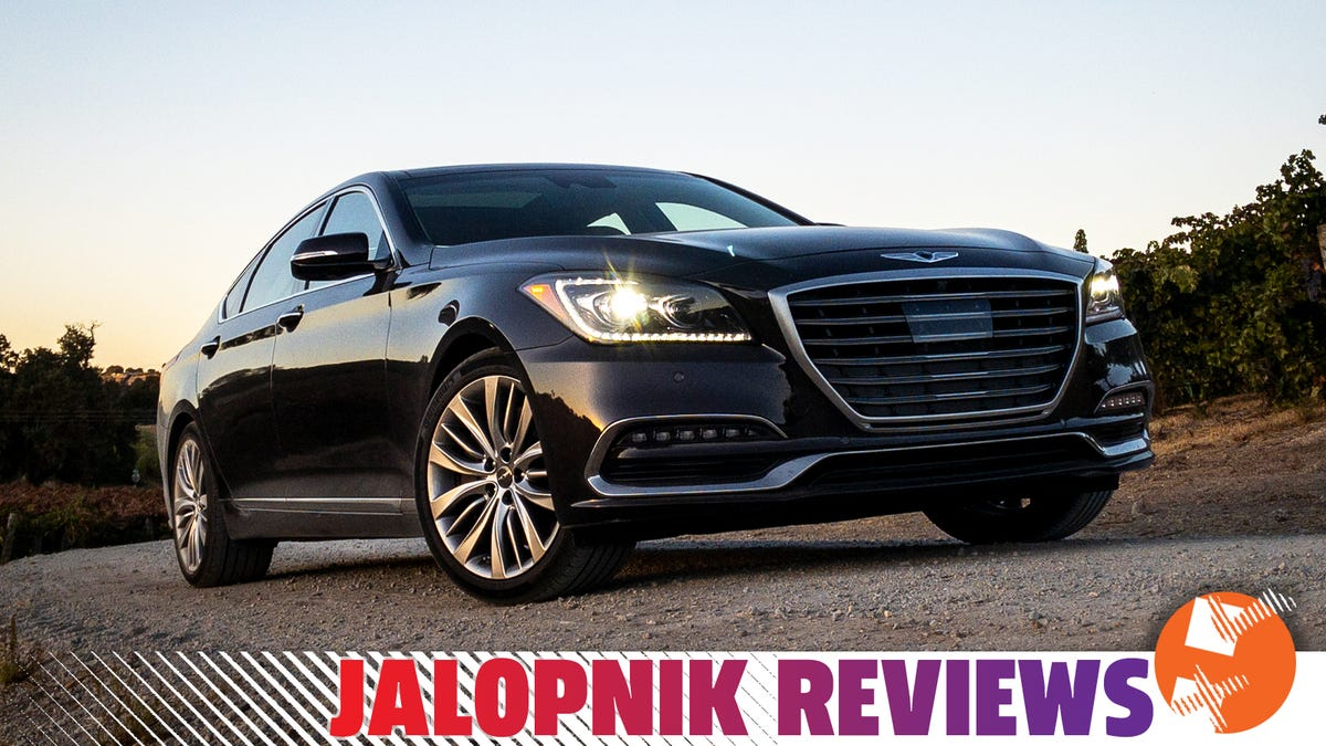 The 2019 Genesis G80 5.0 Is Pure Class