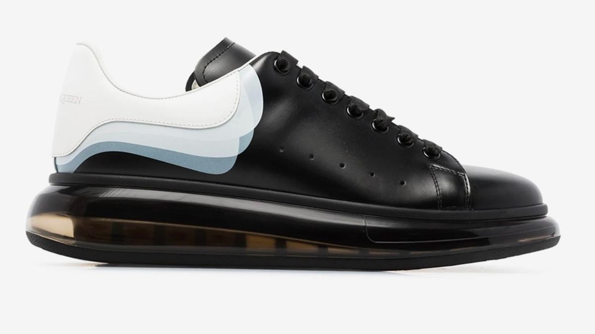 Is This Shoe OK? Alexander McQueen's Transparent-Soled Oversized Sneaker