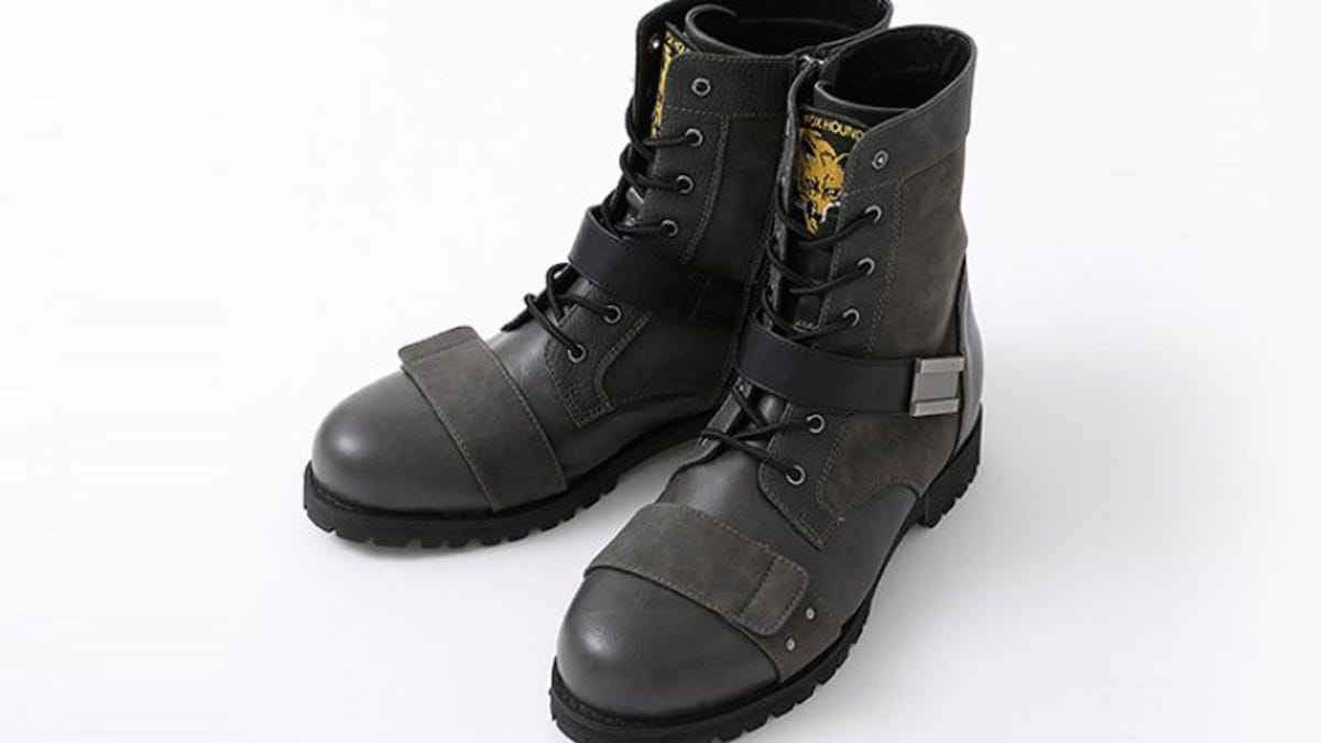 The Official Metal Gear Solid Boots Are Kind Of So-So, I Guess
