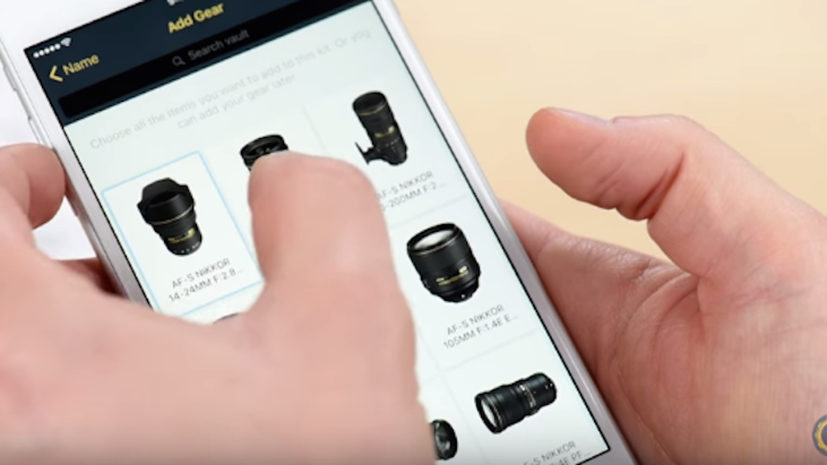 Manage Your Photography Gear Like a Pro With MyGearVault
