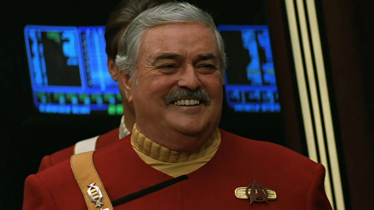 Here's How the Ashes of Star Trek's Scotty Got Smuggled Aboard the ISS