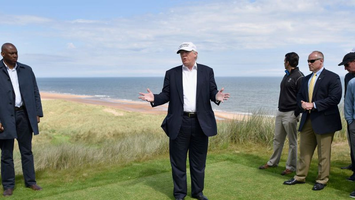 Donald Trump doesn't actually play golf for fun, he plays golf for work