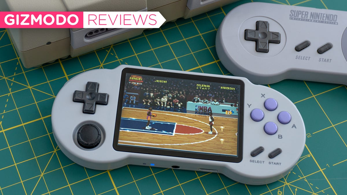 The Super Nintendo-Inspired PocketGo S30 Is One of the Easiest Ways to Get Into Handheld Retro Gaming