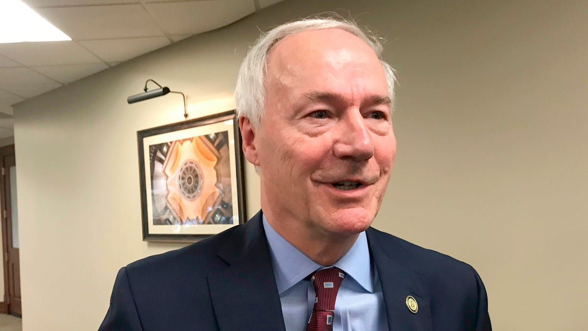 Arkansas Governor Tells People Who Want an Abortion to Fuck Off