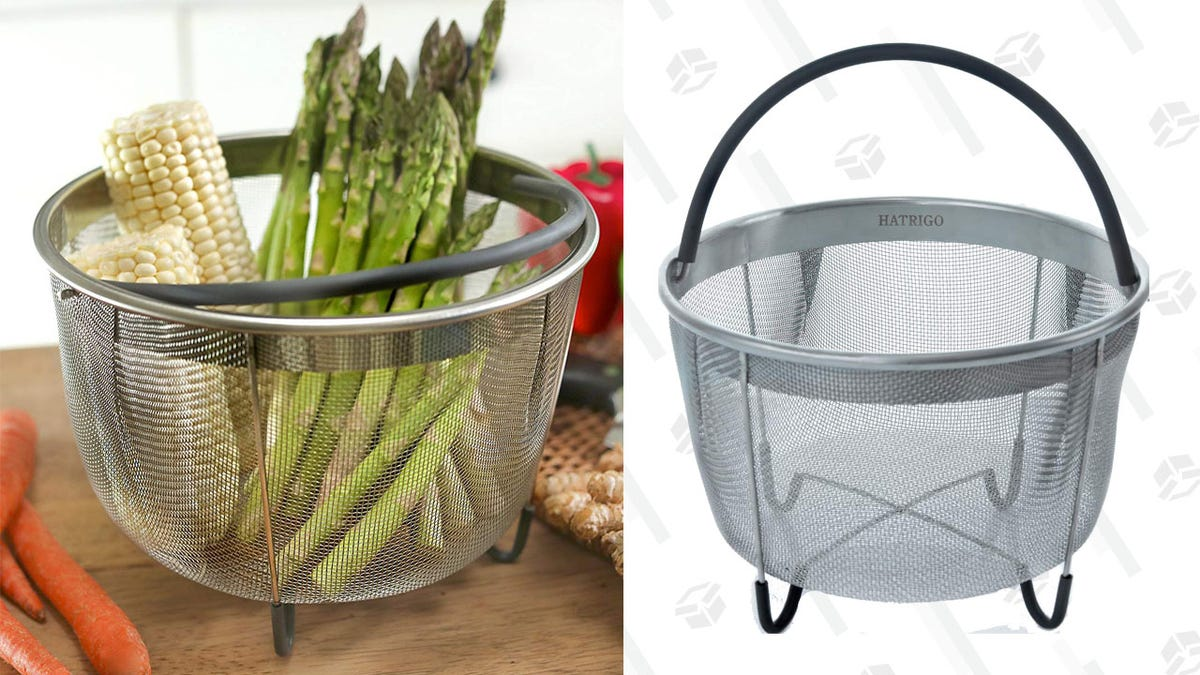 Pick Up Discounted Steamer Baskets For Your Instant Pot