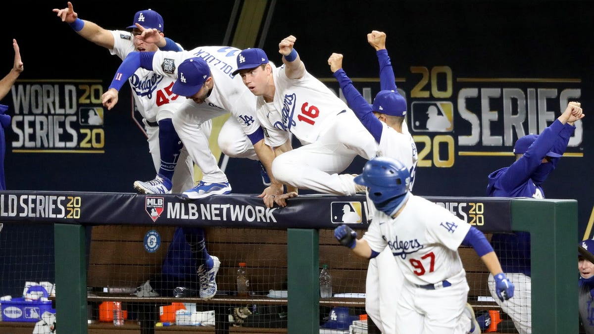 The Dodgers are World Series Champs!