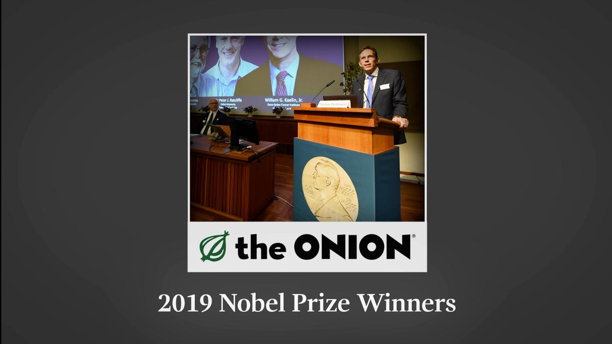 2019 Nobel Prize Winners