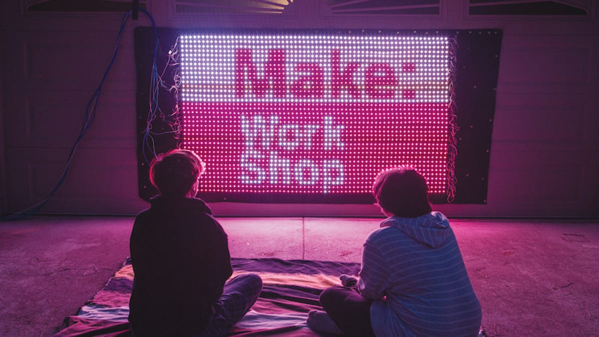 Build Your Own Massive LED Video Screen Powered by Arduino
