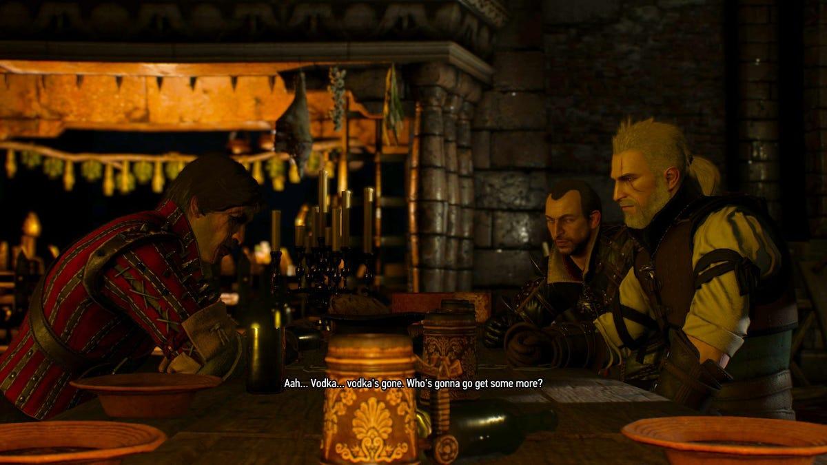 My Favorite Witcher 3 Quest Has No Fighting, Just Drunken Shenanigans
