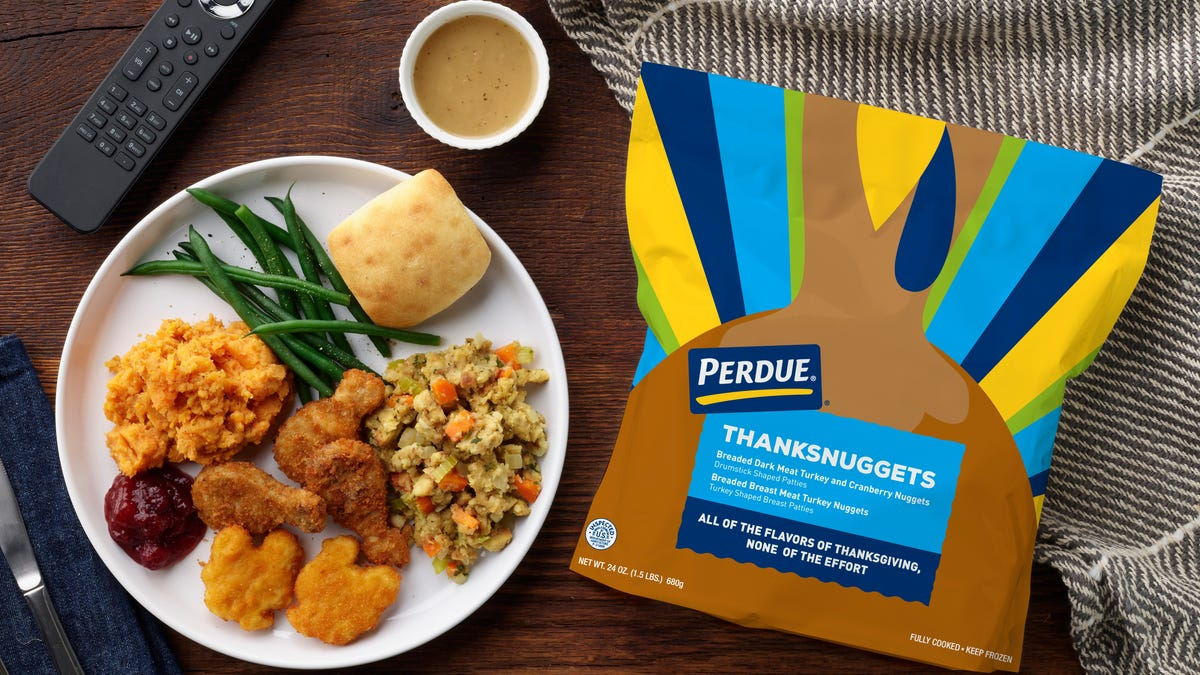 Perdue crammed Thanksgiving into turkey nuggets