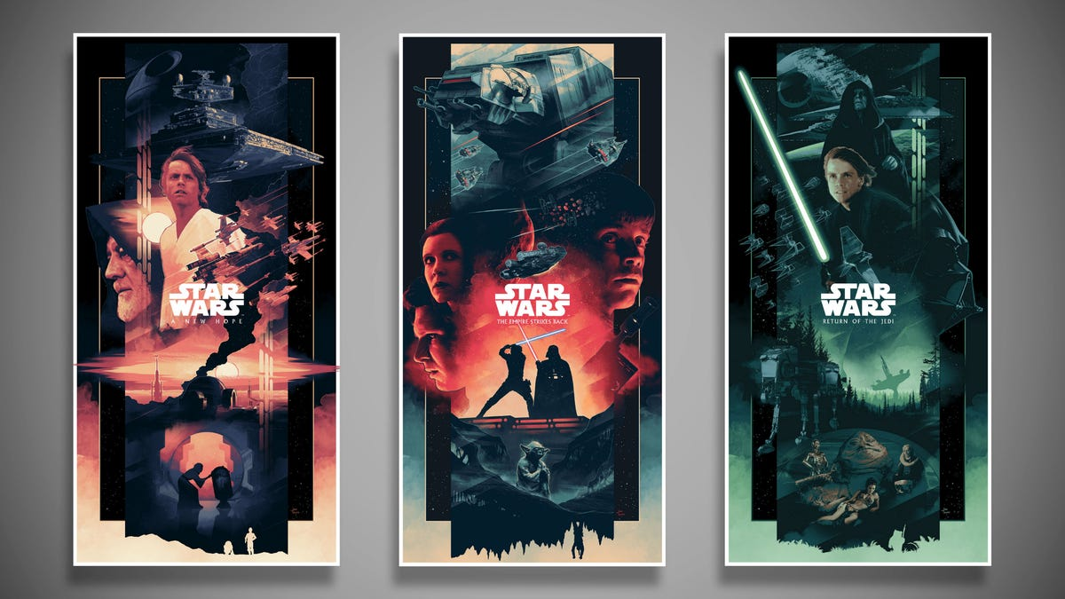 Because You Can Never Have Too Many Gorgeous Star Wars Posters
