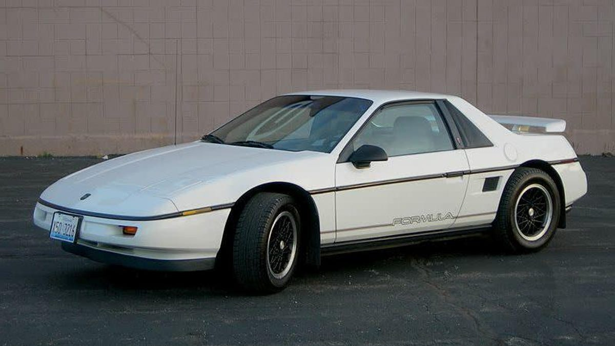 Lack Of Parking Is The Only Reason I Haven't Bought A Pontiac Fiero
