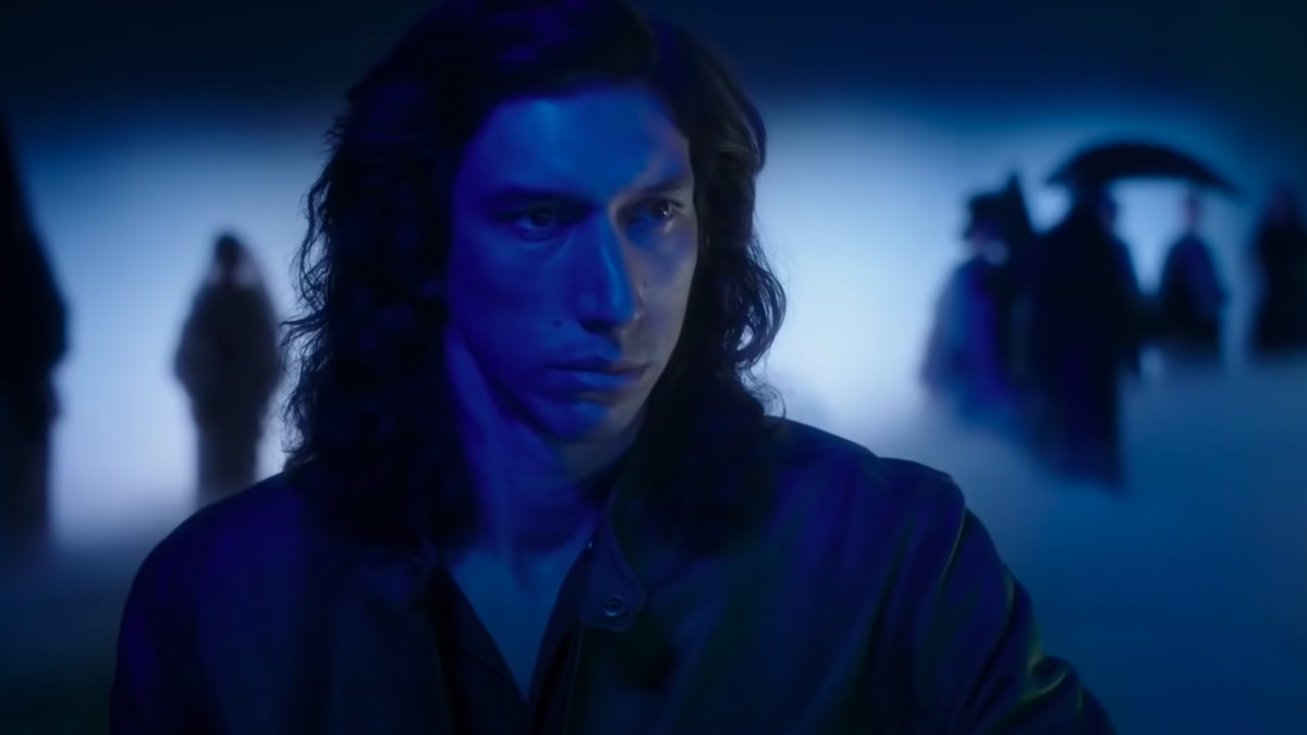 Adam Driver broods in the epic trailer for Leos Carax's Annette