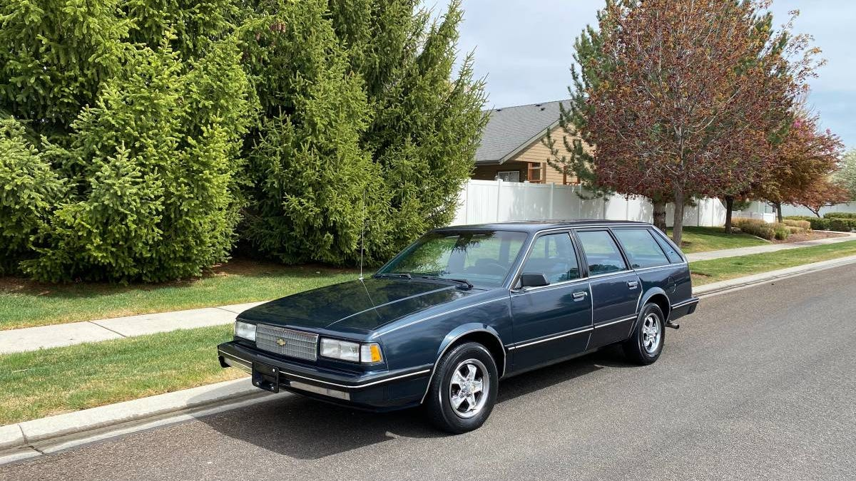 At $2,000, Is This 1987 Chevy Celebrity A Superstar?
