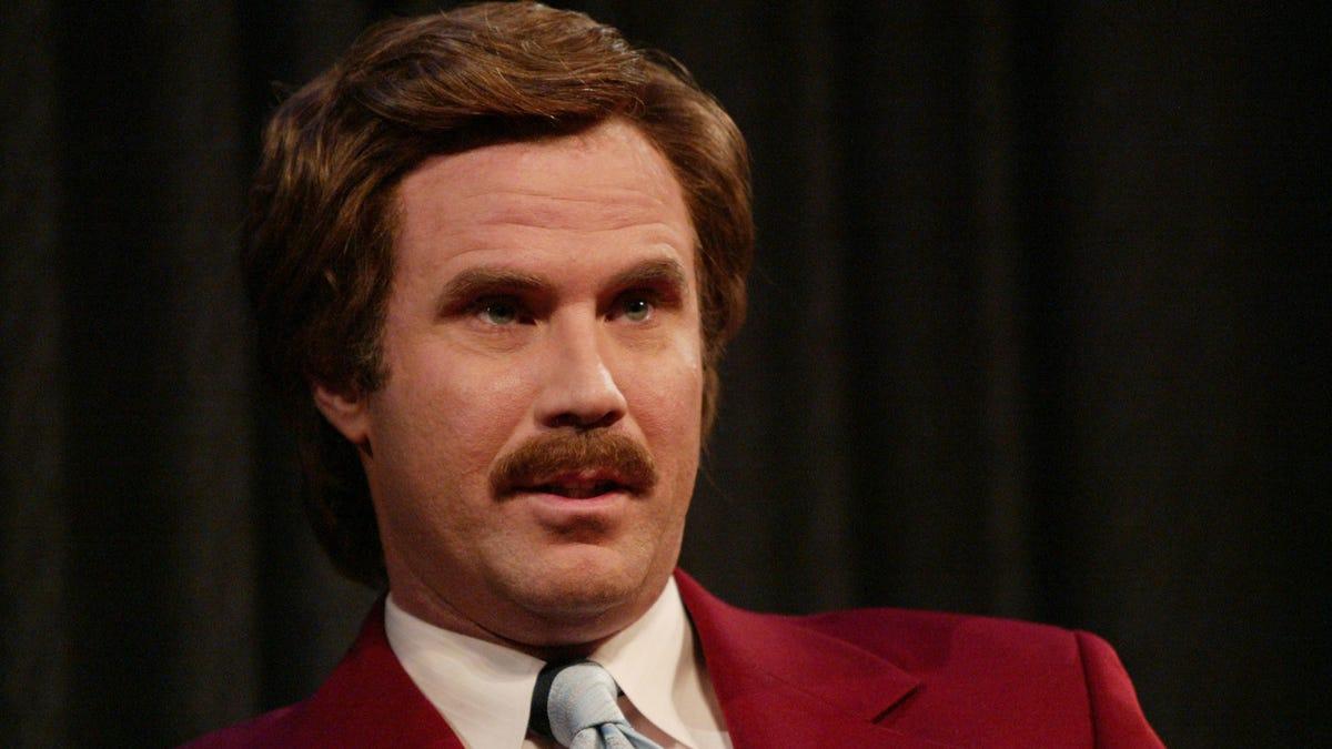 Will Ferrell resurrected Ron Burgundy to call a soccer match