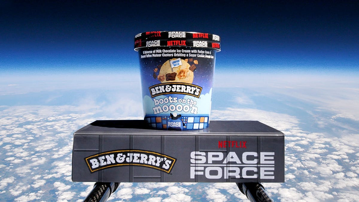 Our anticipation of the new Ben & Jerry's flavor is stratospheric