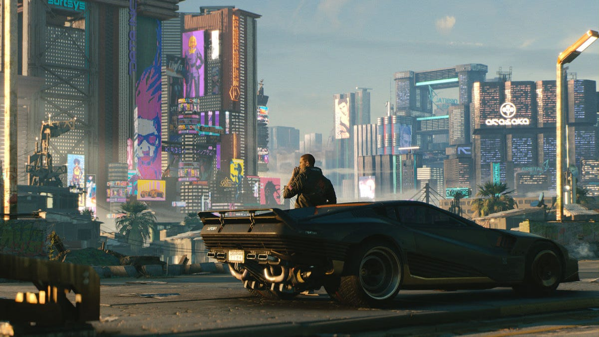 Así se ve Cyberpunk 2077 en PlayStation 5, PS4 Pro, Xbox Series X y Xbox One X