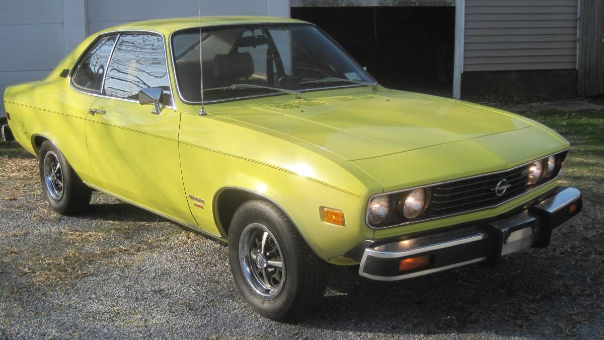 At $16,500, Will This 1975 Opel Manta Survivor Survive Our Scrutiny?
