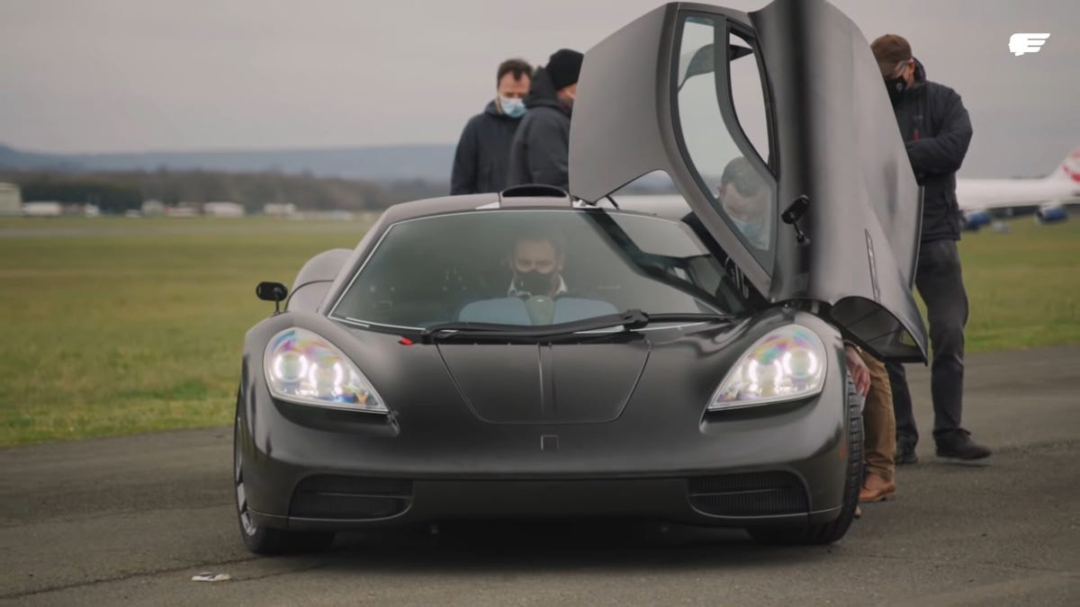 The Only Hypercar That Matters Is Finally A Running And Driving Prototype
