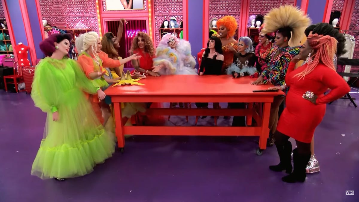 Charmers, and some clunkers, come to the fore as RuPaul's Drag Race gets competitive