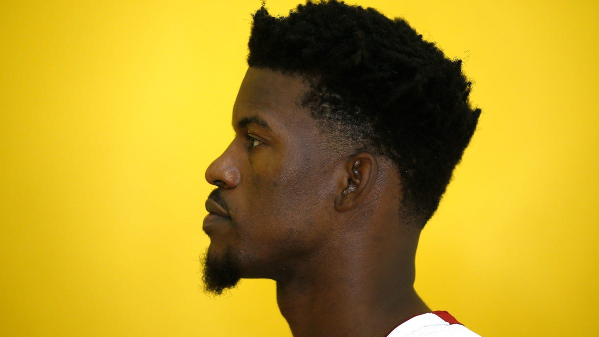Jimmy Butler Compares Himself To A Work Of Art, Specifically A Banksy