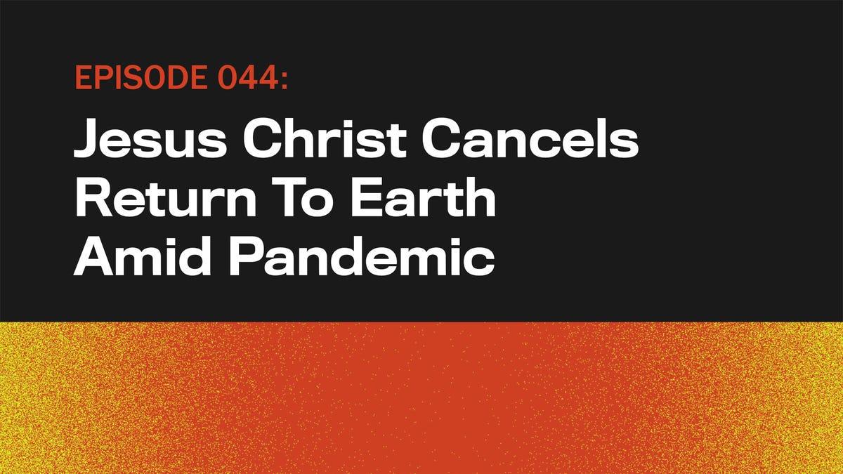 Jesus Christus Kündigt Rückkehr Zur Erde Inmitten Pandemie