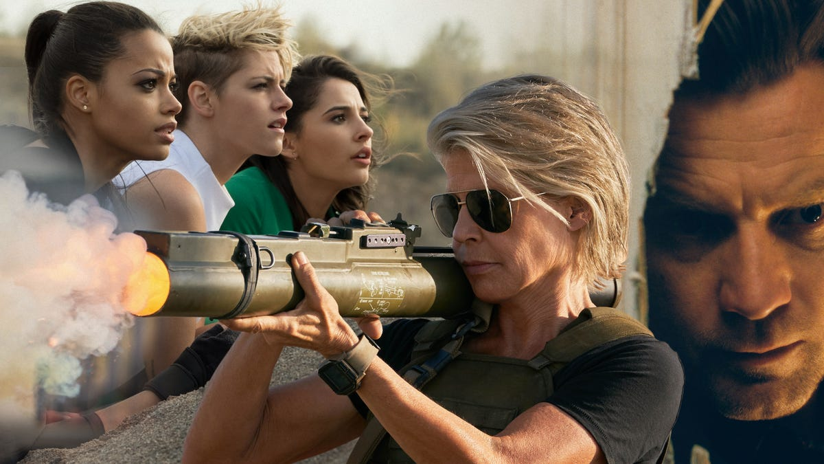 The Terminator is back, and so are Charlie's Angels and The Shining, this November