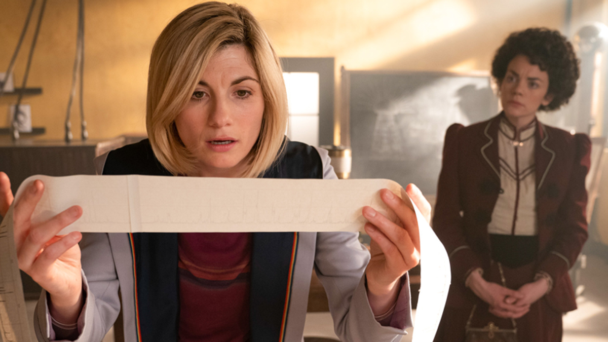Doctor Who's Latest Champions Invention With a Collection of Old Ideas