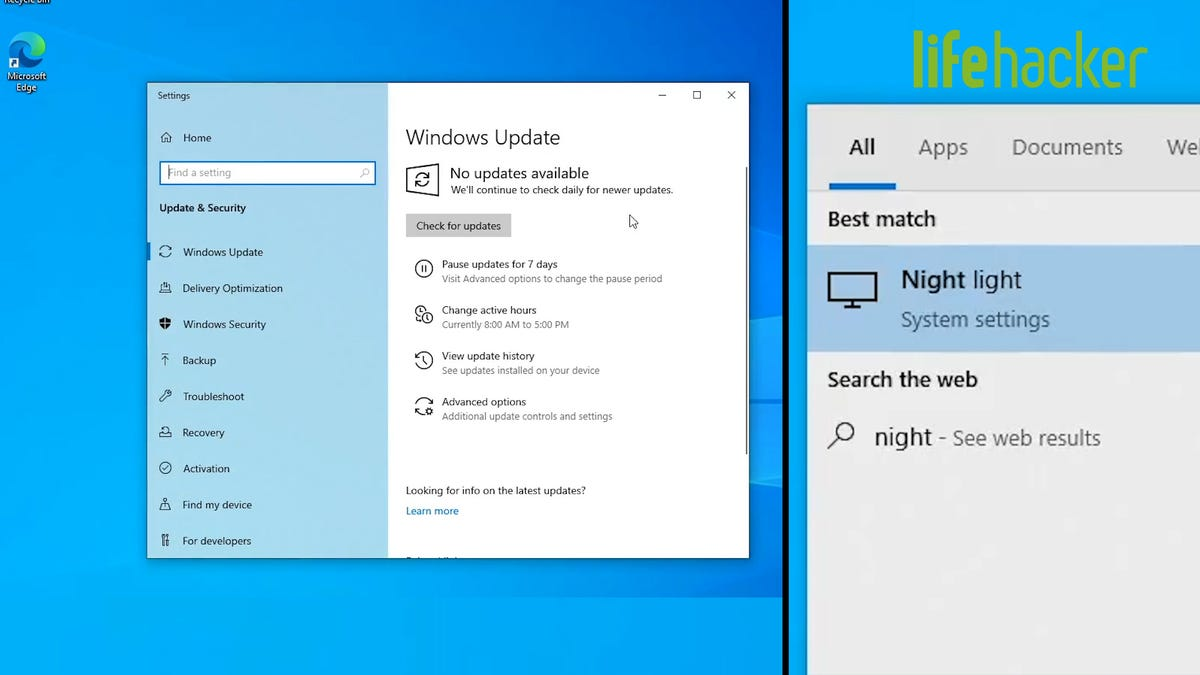 The First Things to Set Up in Windows 10