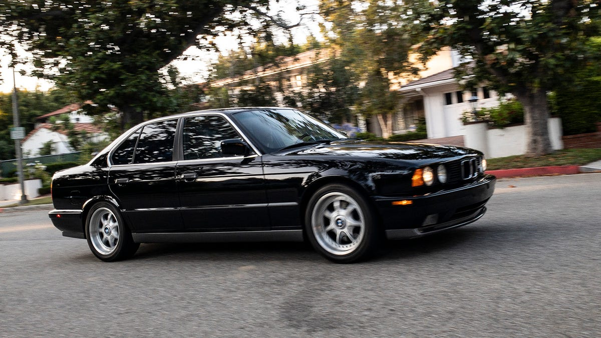 The Bmw E34 M5 Is Weirder Than You Remember