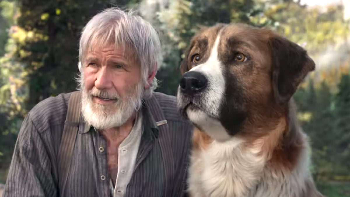 I Am Extremely Here for This Clip of Harrison Ford Playing With a CGI Dog