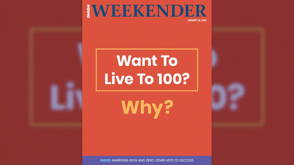 Θέλω Να Ζήσω 100; Γιατί;