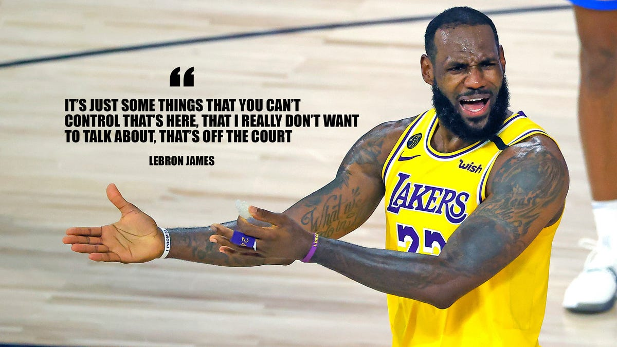 LeBron Plants Seed of Failure by Once Again Throwing Teammates Under the Bus - Deadspin