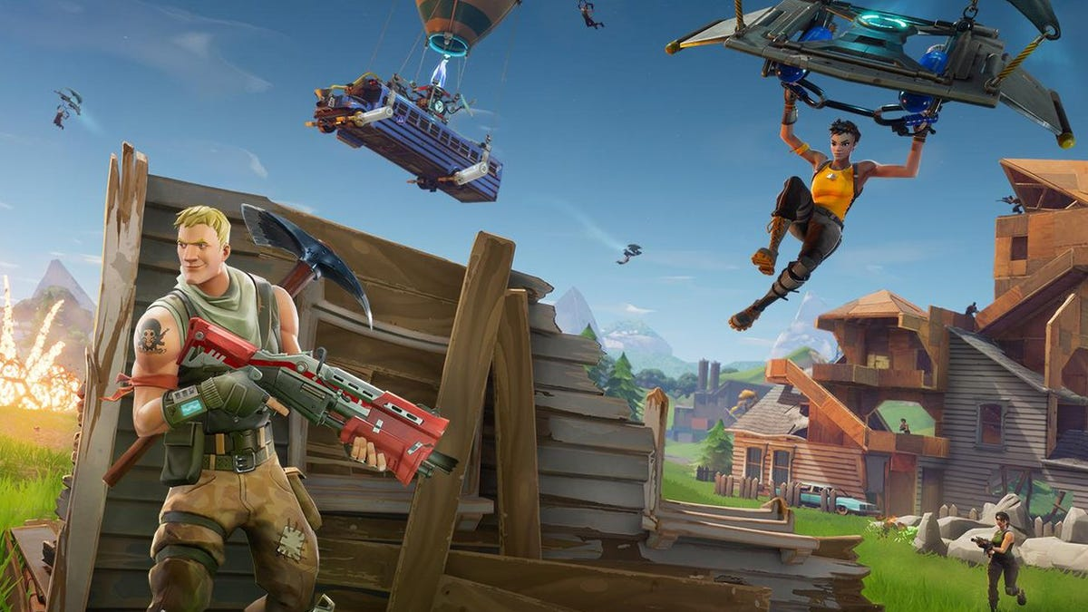 Epic Bans Stretched Screen Resolutions From Fortnite