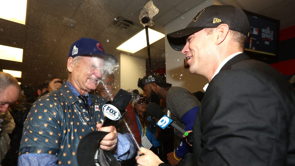 Give Theo Epstein And Bill Murray A Buddy Cop Movie, Now