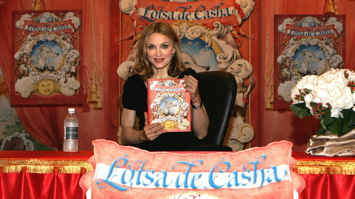 Let's Recall Some Celebrity Book Signings