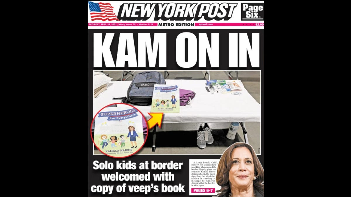 The Writer of That Made-Up Kamala Harris Book Story Has Resigned From the New York Post