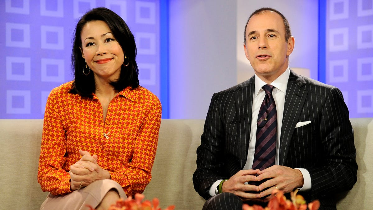 Ann Curry says she reported Matt Lauer for harassment in 2012, and nothing happened