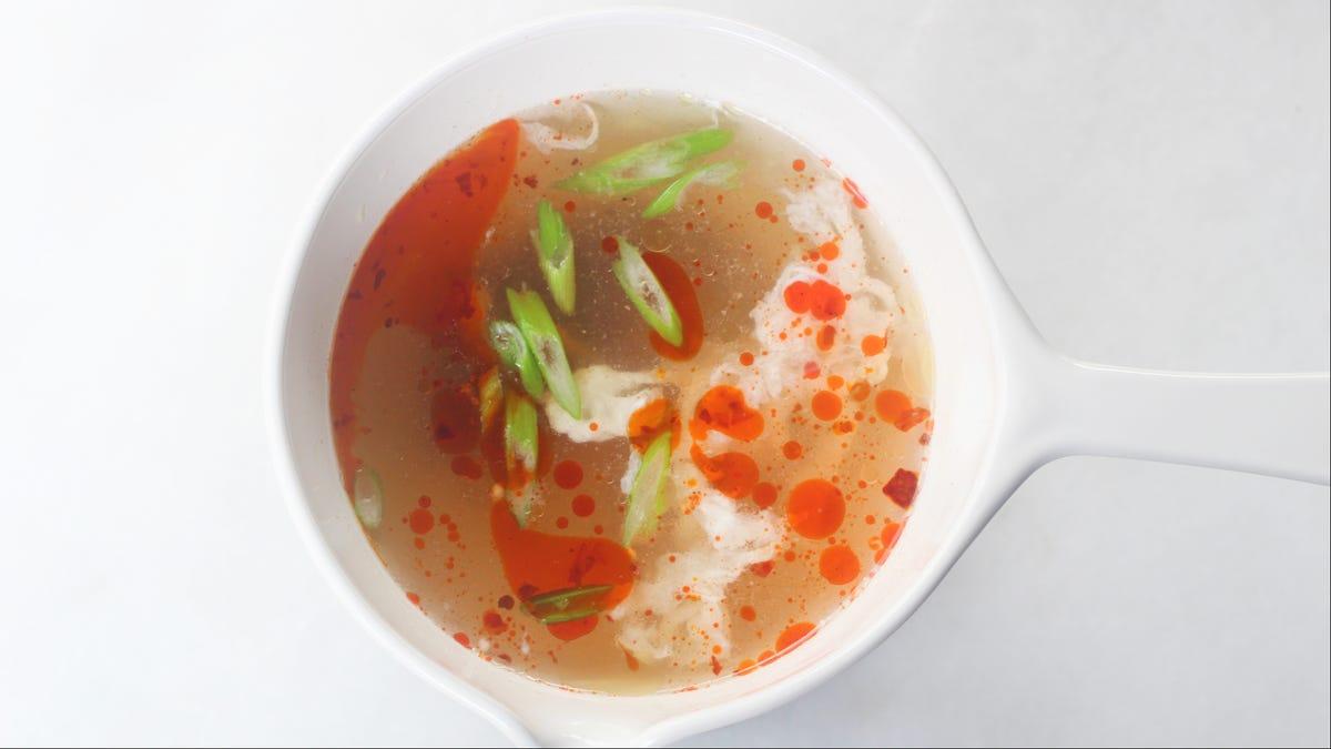 Bulk Up Soup With Leftover Egg Whites