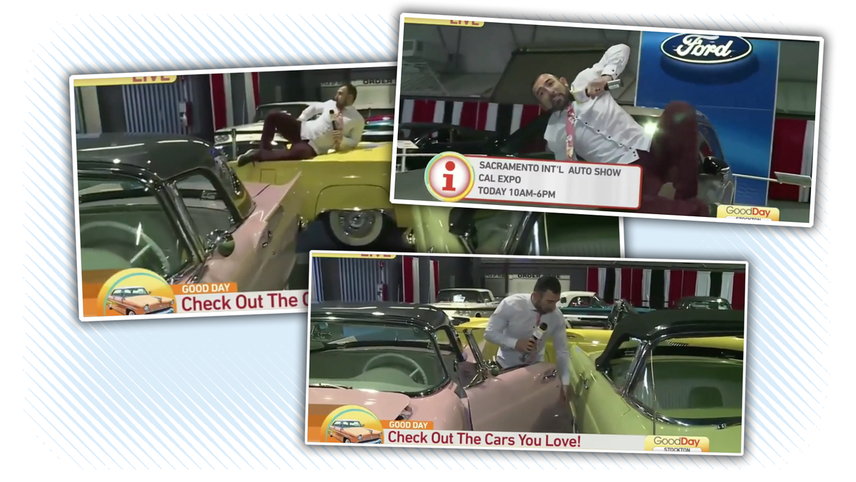 Local Morning Show Reporter Fired After Shooting Segment Where He Jumps On Cars And Acts Like A Moron