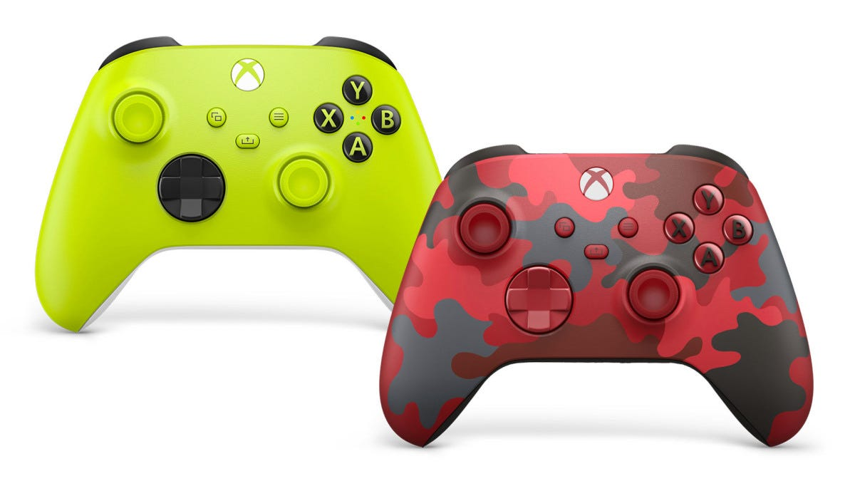 Xbox Controllers Now Come In Tasty Limeade And Cherry Camo