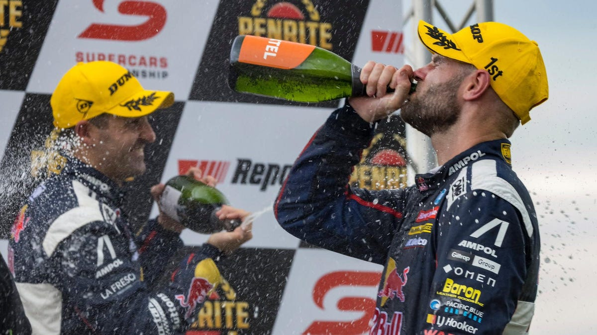 Shane Van Gisbergen Is One Of The Best And He's Only Getting Better