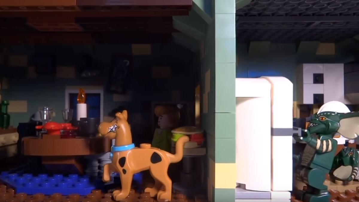 This Lego Artist Created the Ultimate Horror Movie Haunted House