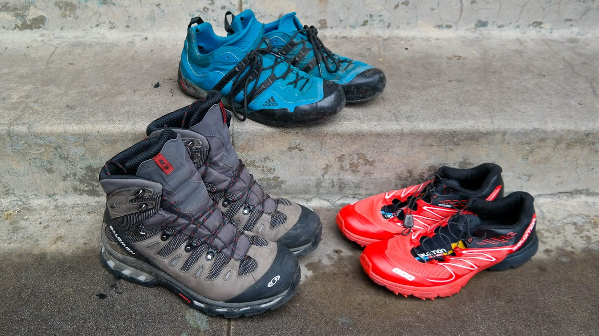 What's Better For Hiking? Boots vs Trail Runners vs Approach ...