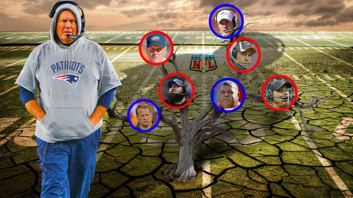 Bill Belichick's NFL Coaching Tree is Still Dead