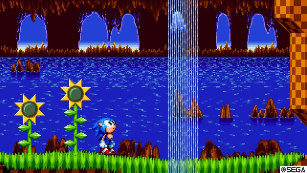 How Sonic Mania S First Level Sets The Stage For A Nostalgia Twisting Adventure