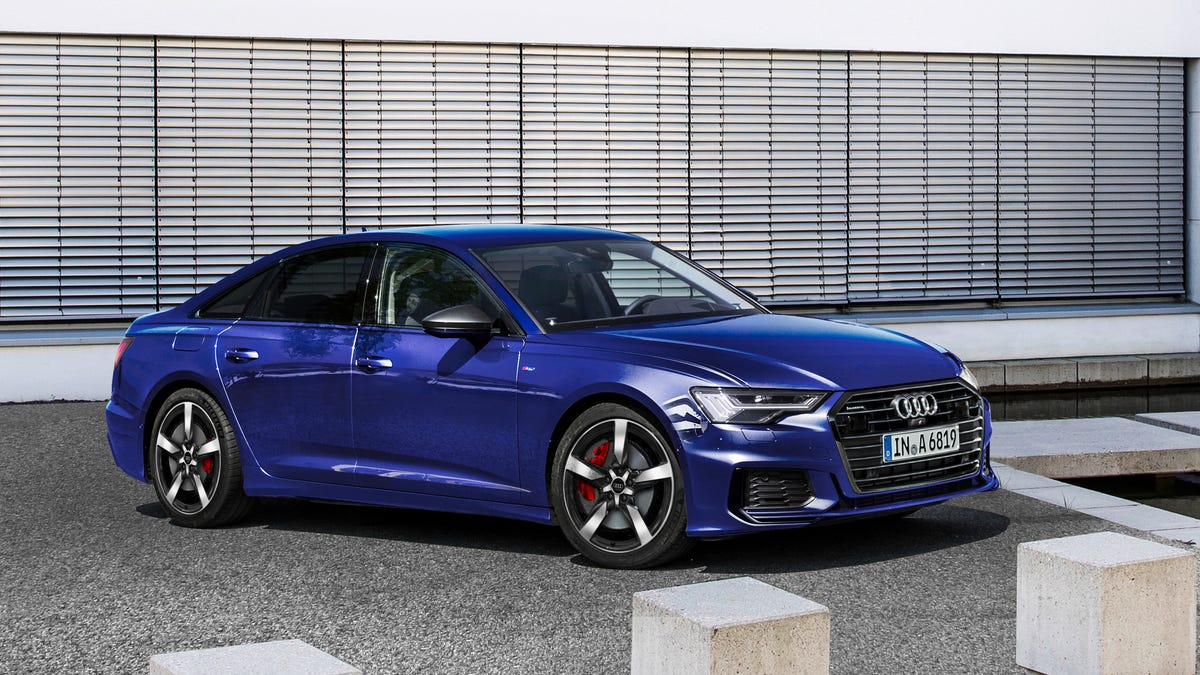 The 2020 Audi A6 TFSI e 55 quattro Plug-In Hybrid Has A Long Name And Slightly Better Electric Range