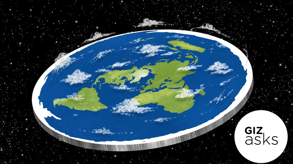 如果地球真的是平的呢?