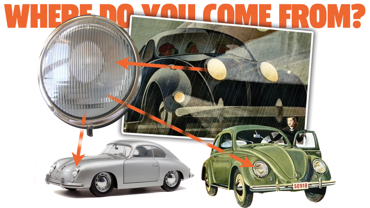 This Might Br The First Car To Have The Iconic VW Beetle/Porsche 356 Headlight