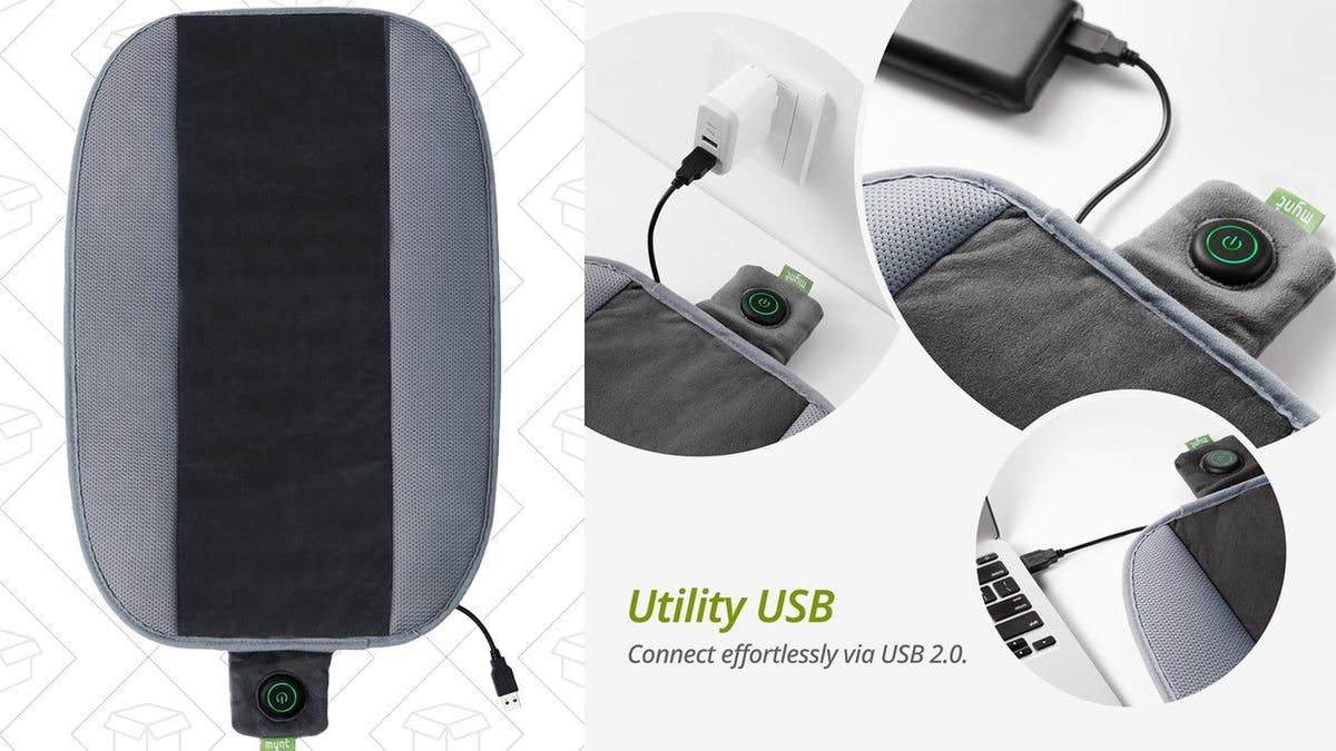 This 17 Heated Cushion Runs Off Usb Including Portable